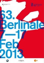 Offizielles Plakat 63. Berlinale ©Internationale Filmfestspiele Berlin